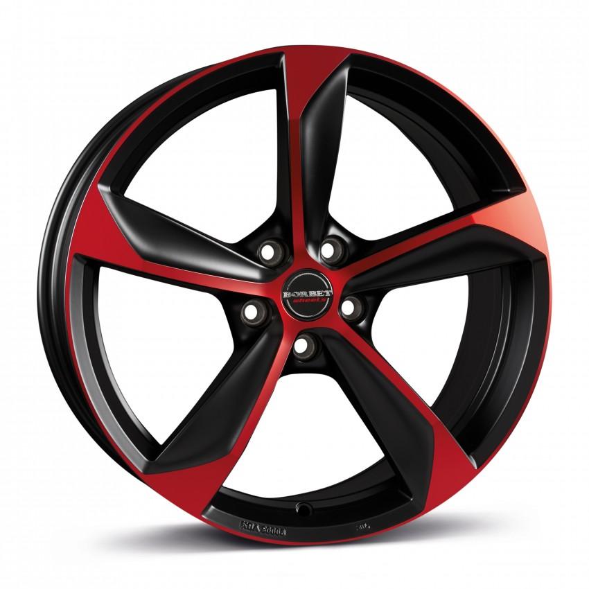 black red matt <br> 19