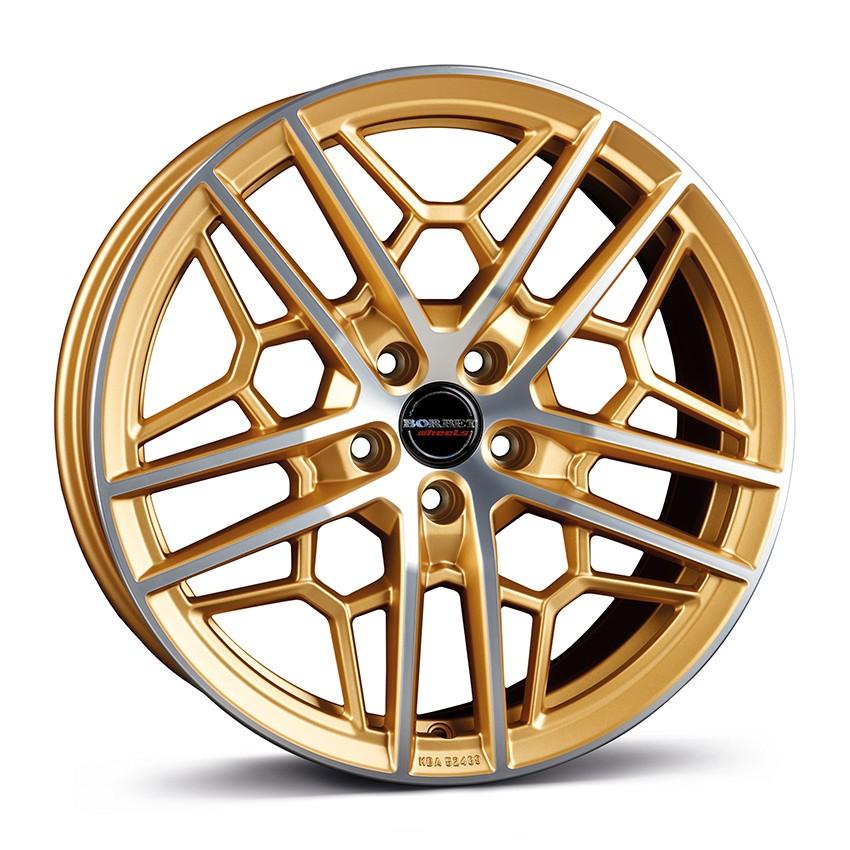 BORBET GTY gold polished matt 19\'