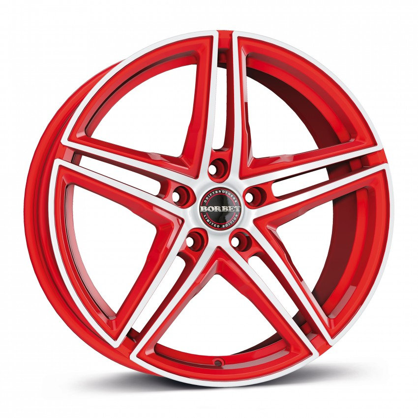 racetrack red polished 17\'-19\'