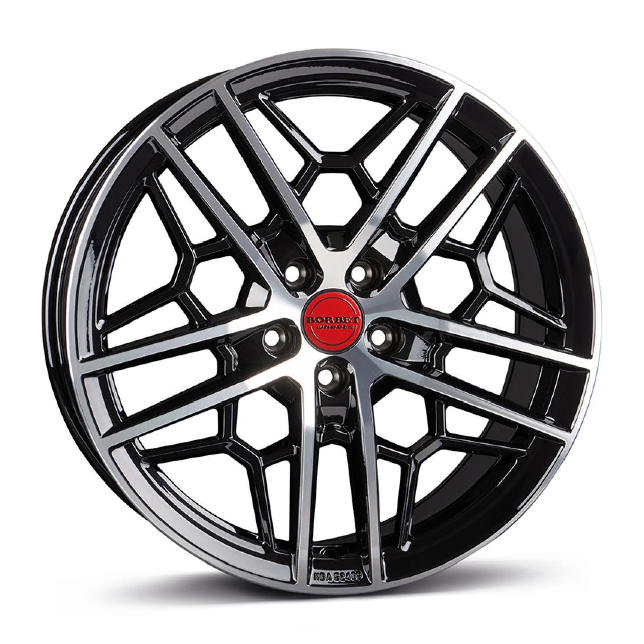 BORBET GTY black rim polished glossy 19\'