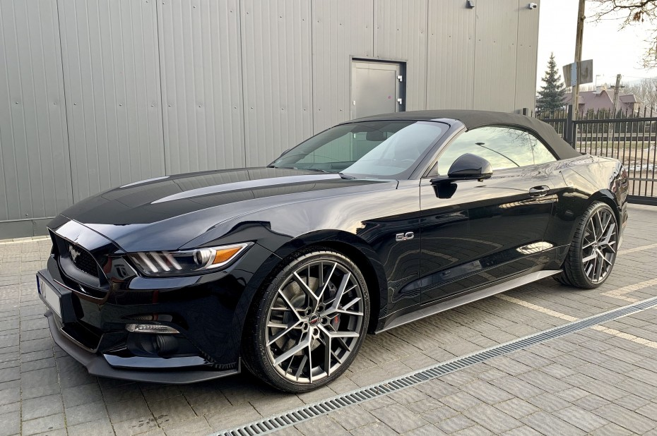 2019 BORBET BY Ford Mustang
