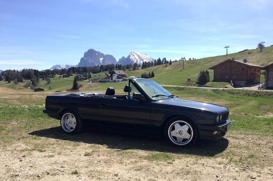 BORBET A Classic Felge BMW E30 Cabrio