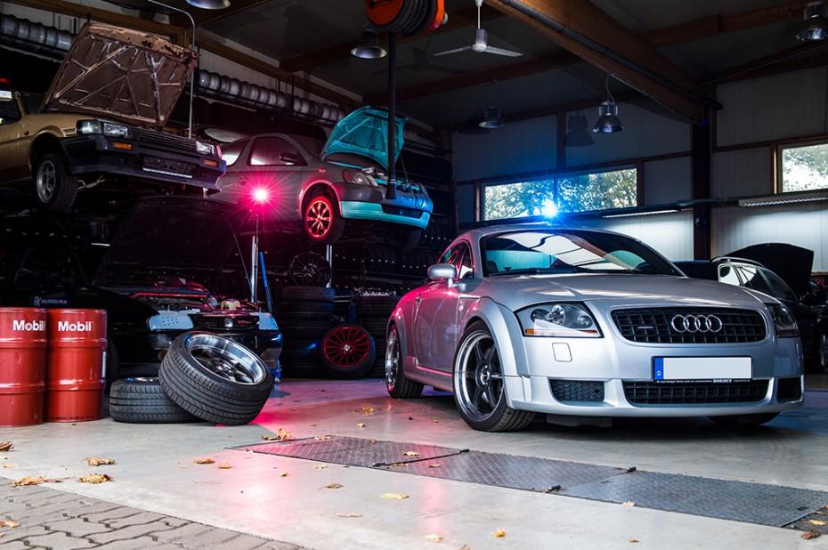 BORBET DB8GT Felge Audi TT 8N