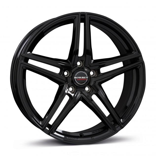 black glossy <br> 17\'-20\'