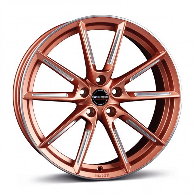 BORBET LX copper matt spoke rim polished 19\'