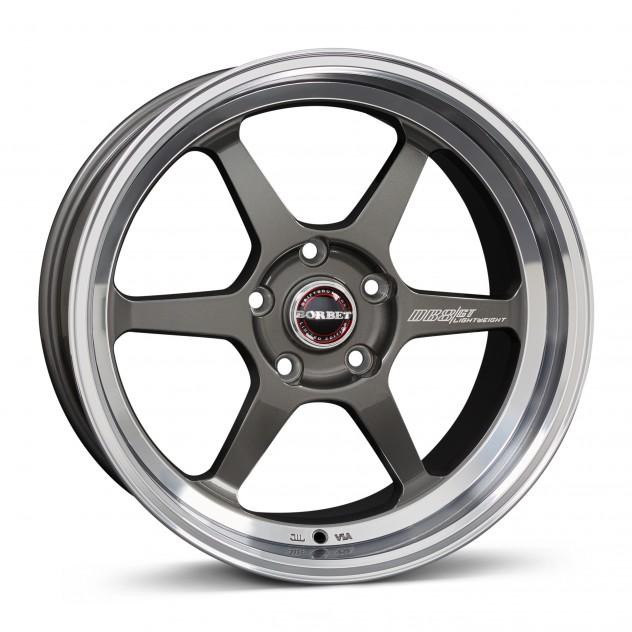 graphite rim polished <br> 18\'